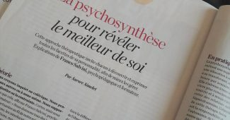 Article Psychologies magazine octobre 2020 p132